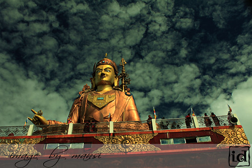 Guru Padmasambhava in South Sikkim | by MansiChirps