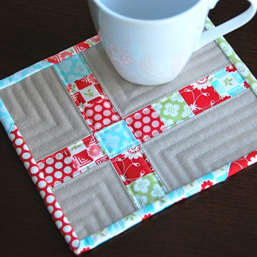 Bliss Cross Mug Rug | by Mary1602