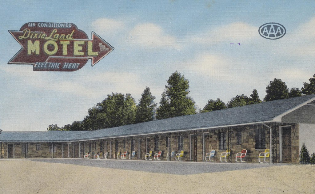 Dixie Land Motel - Chattanooga, Tennessee