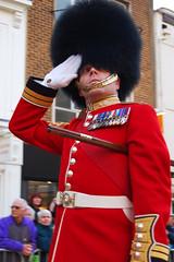 Grenadier Guard Salute