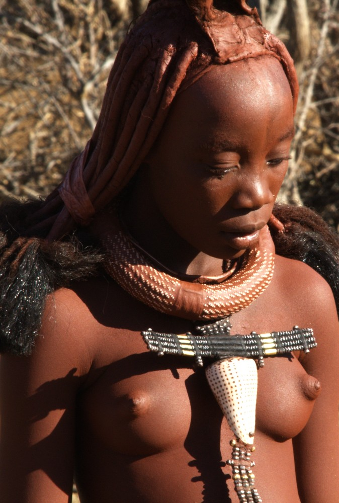 African Puffy Nipples