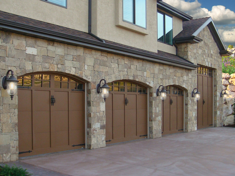 Garage Doors Carriage House Arched Rusty Iron Finish Flickr