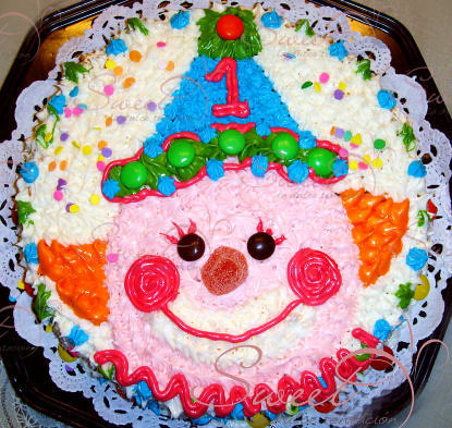 pastel infantil payaso   Flickr - Photo Sharing!