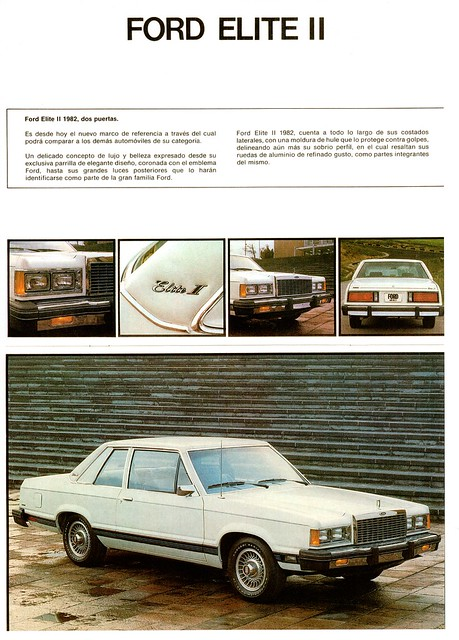 1982 Ford Elite II (Mexico)