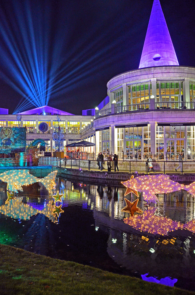 Bluewater Xmas Lights 1_HDR | The Christmas lights and decor… | Flickr