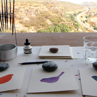 Painting with a view | by Geninne