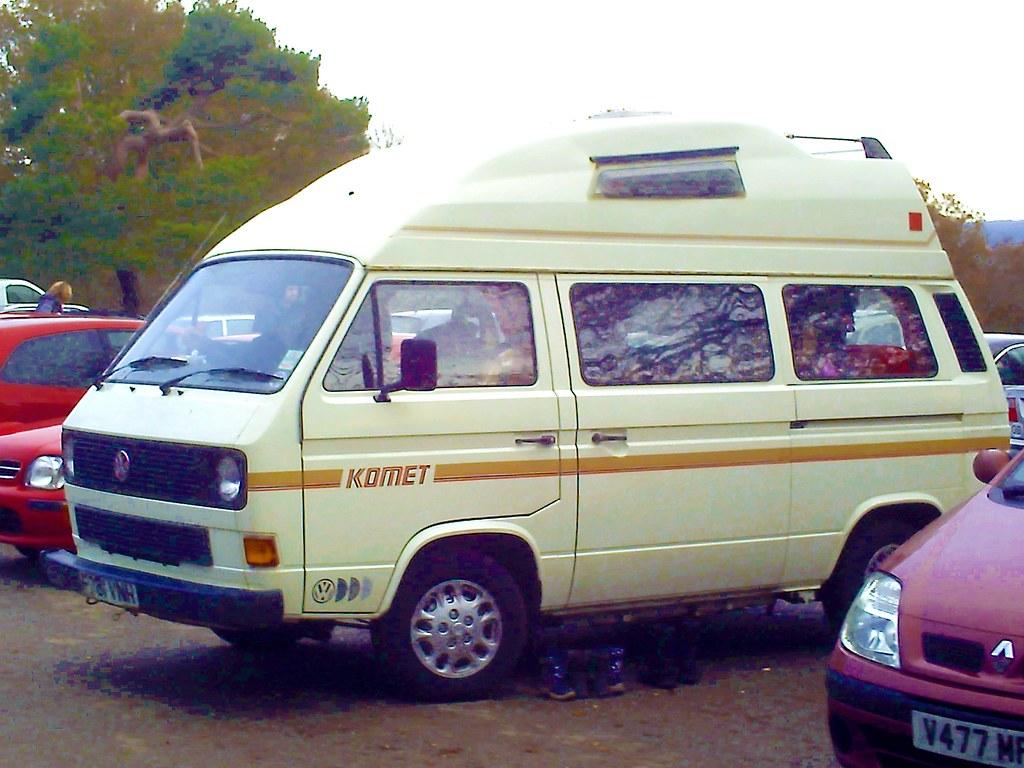 By Johncardwellpix VW Camper Van 80s Style
