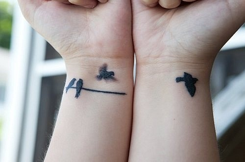Birds Nice Simple Hands Tatto Feelgood 5503bd50f6752c07e89 Flickr