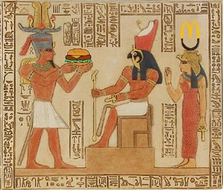 pharaoh food horus burger offering ptolemy burgers flickr pro mcdonald