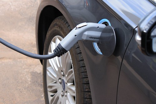 Plugged In Electric Vehicle Charging | by noyafields