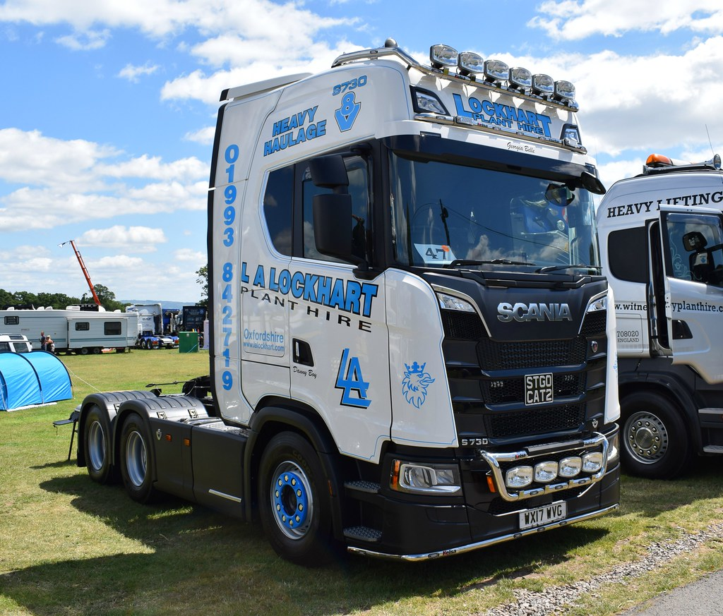 l a lockhart plant hire ltd scania s series wx17 wvg flickr. Black Bedroom Furniture Sets. Home Design Ideas