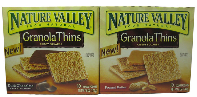 Nature Valley Granola Bars Production
