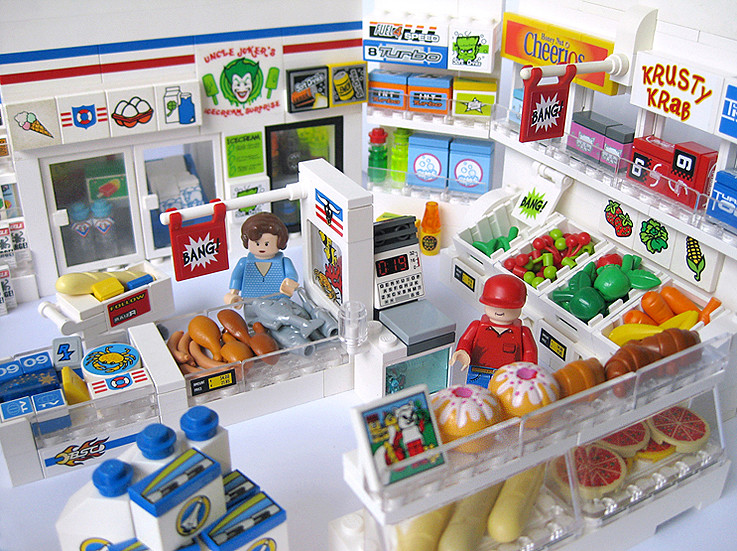Lego Toy Food : Shuttle shop jemppu malkki flickr