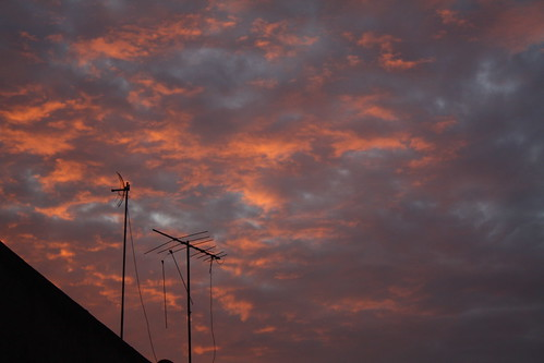Antennas at dawn | by namilolo
