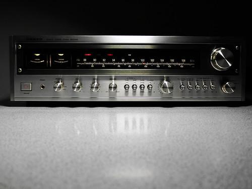 onkyo tx 4500 stereo receiver 1977 1978 65 watt per chan flickr