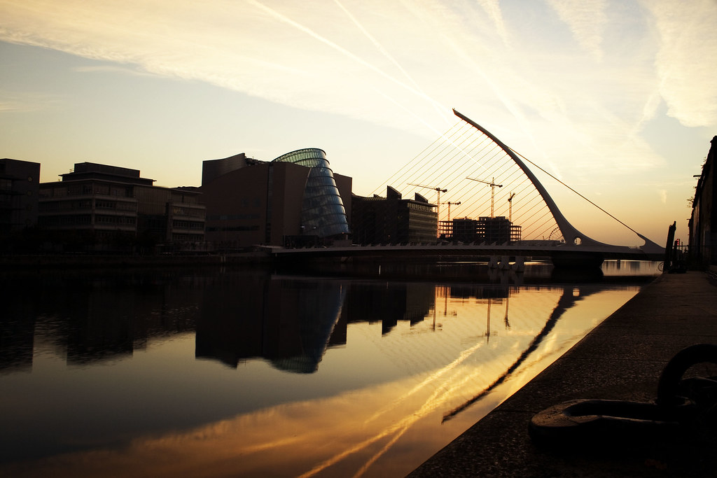 sunrise dublin city centre inspired by a night shot from m flickr