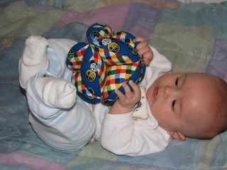Baby with Baby Puzzle Ball | by Sew Fun by Jennifer Lopez