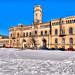 Leibniz Universität Hannover im Schnee