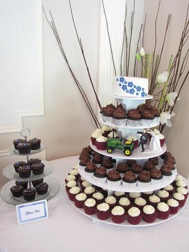Wedding Cake Cheese Board