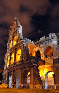 Rome's Colosseum at Night | by Food Lovers Odyssey