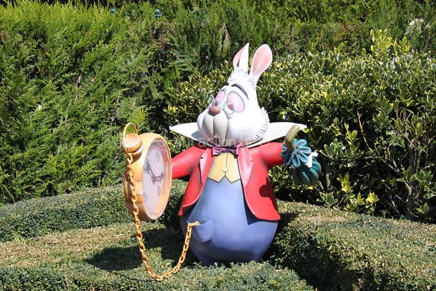 le lapin d 39 alice au pays des merveilles parc d attraction parc d 39 attraction flickr. Black Bedroom Furniture Sets. Home Design Ideas