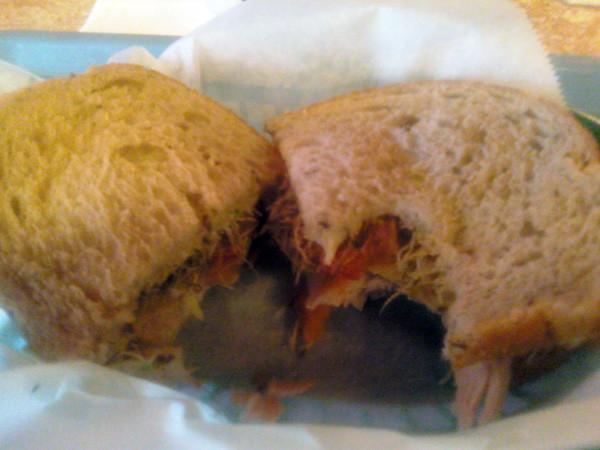 Sandwiches Web Turkey Sandwich From Park Bench Deli In Alt Matt