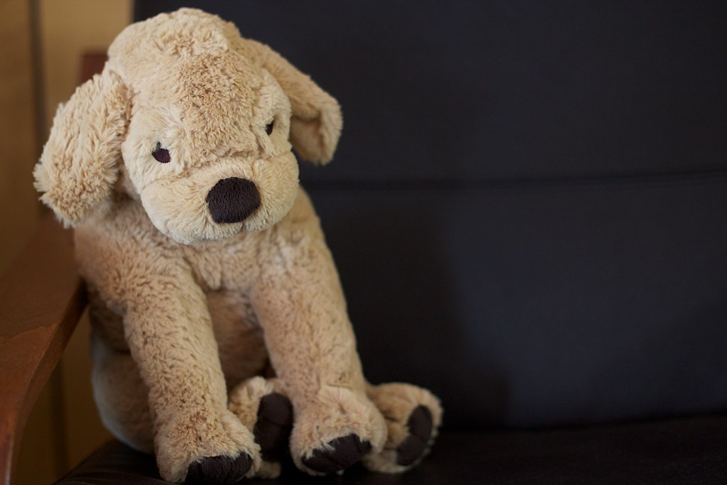 Stuffed Puppy Toy For Dogs