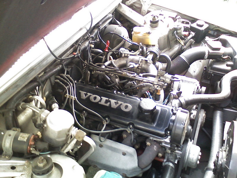 Volvo B230f 2 3 Liter Engine From A 740 My Brother Just