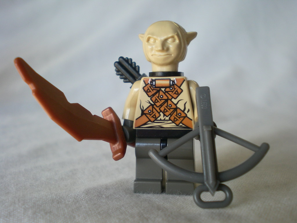 Lego Lord Of The Rings Moria Orc