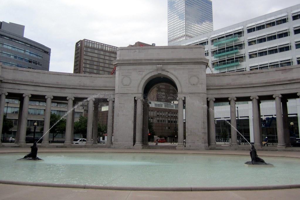 Denver Civic Center Civic Center Park Voorhies Memori