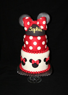 Minnie Sophia | by Whimsy Cakes