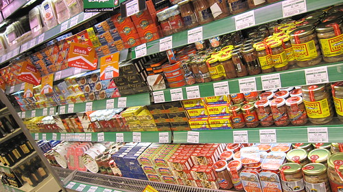 Wall of canned fish | by pug freak