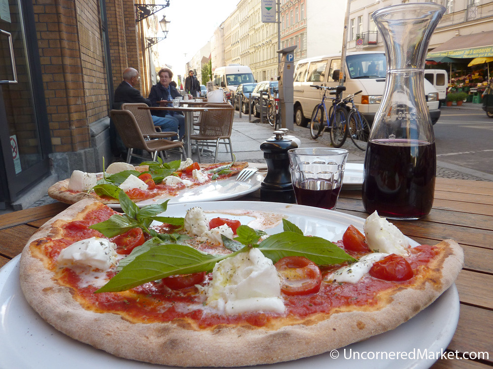 fantastic pizza at papa pane in mitte berlin thin crust n flickr. Black Bedroom Furniture Sets. Home Design Ideas
