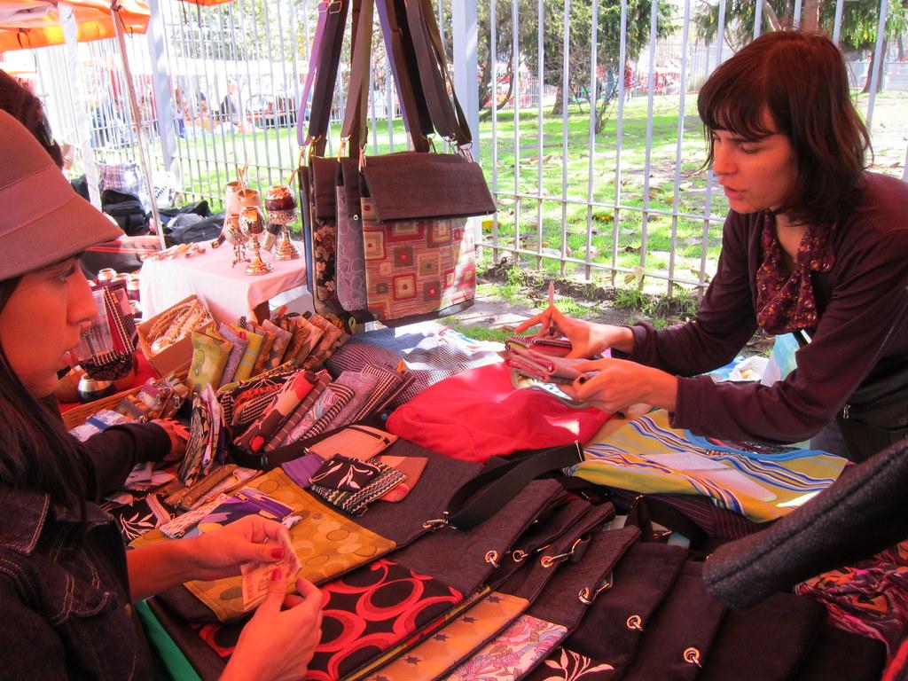 Buenos Aires: Feria de Plaza Serrano, Palermo Soho