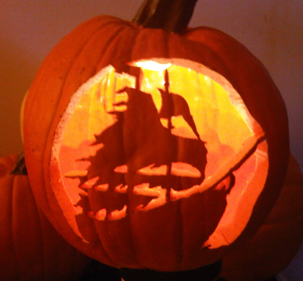 Pirate Ship Lantern Lit Made Out Of A Funkin Www Funkins