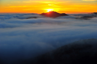 Fog Ocean Sunset | by MikeBehnken