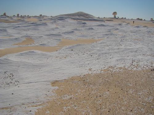 Acanaladuras eólicas - White Desert (Egipto) - 08