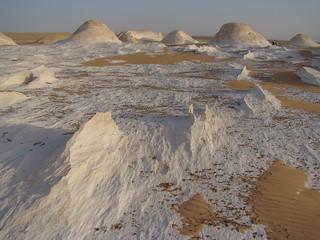 Crestas eólicas - White Desert (Egipto) - 07