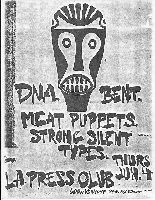 DNA (N.Y.), Meat Puppets, Bent at LA Press Club 1981