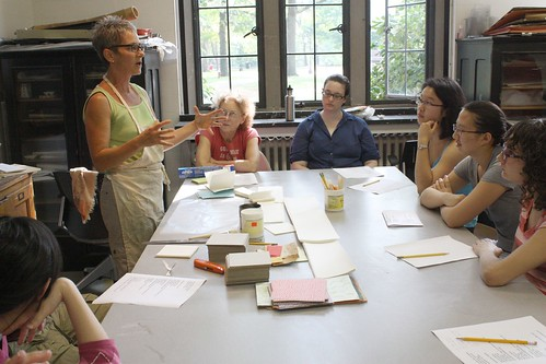 Accordion book binding workshop | by Jewett Art Gallery