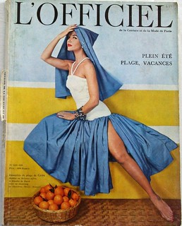 L'Officiel - June 1957 | by Fashion Covers Magazines