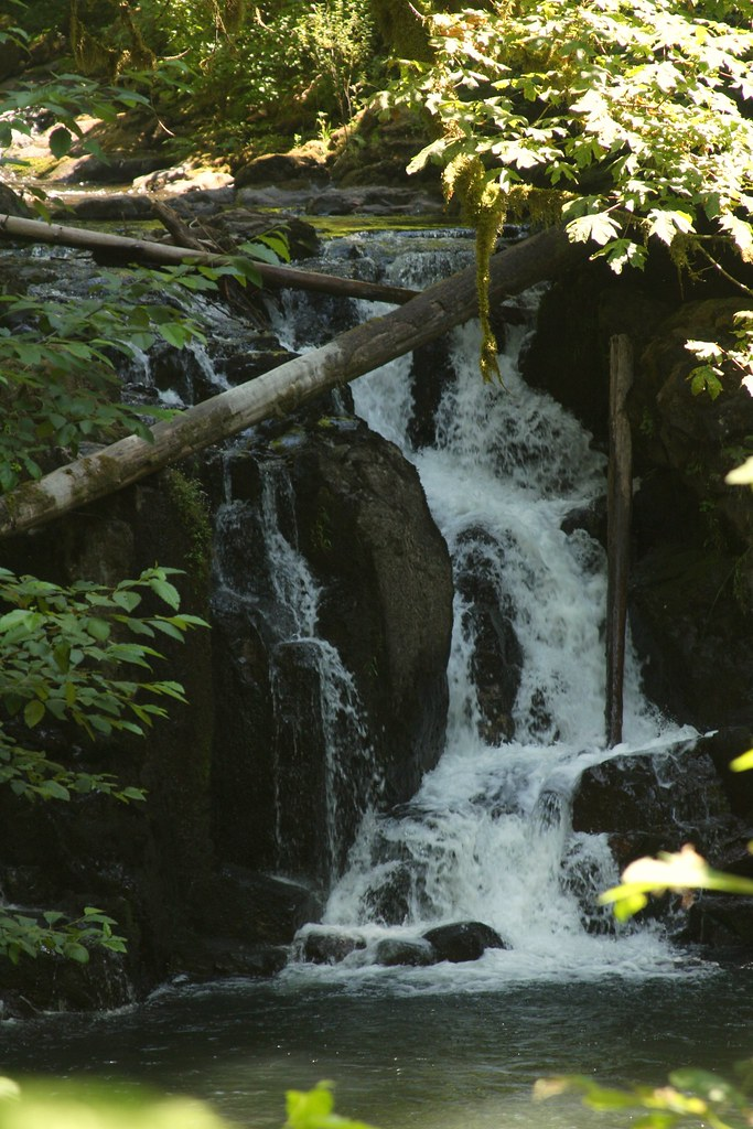 Crystal pool falls mcdowell creek brx0 flickr - Crystal pools waterfall ...