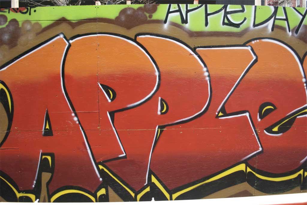 Apple Graffiti Eat To Blog Apples On Orchard