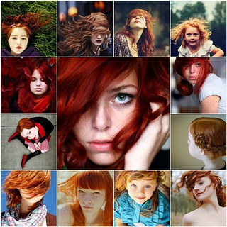 Things I love Thursday - red headed beauties | by ania-maria