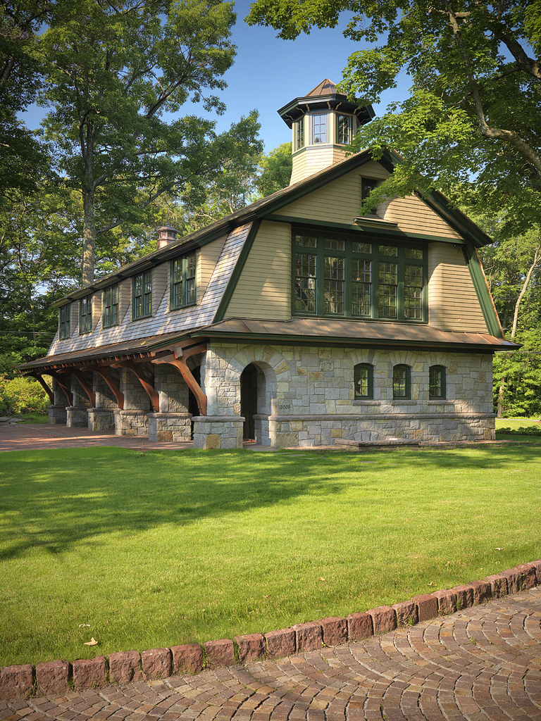 Architecture by ahearn schopfer associates landscape ar for Carriage house barn