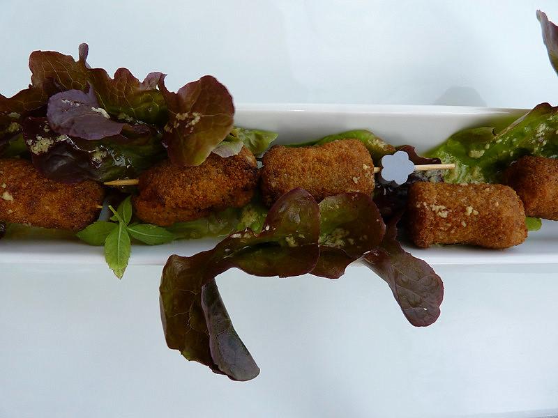 Restaurant casamar llafranc aperitius croquetes de la - Casa mar llafranc ...