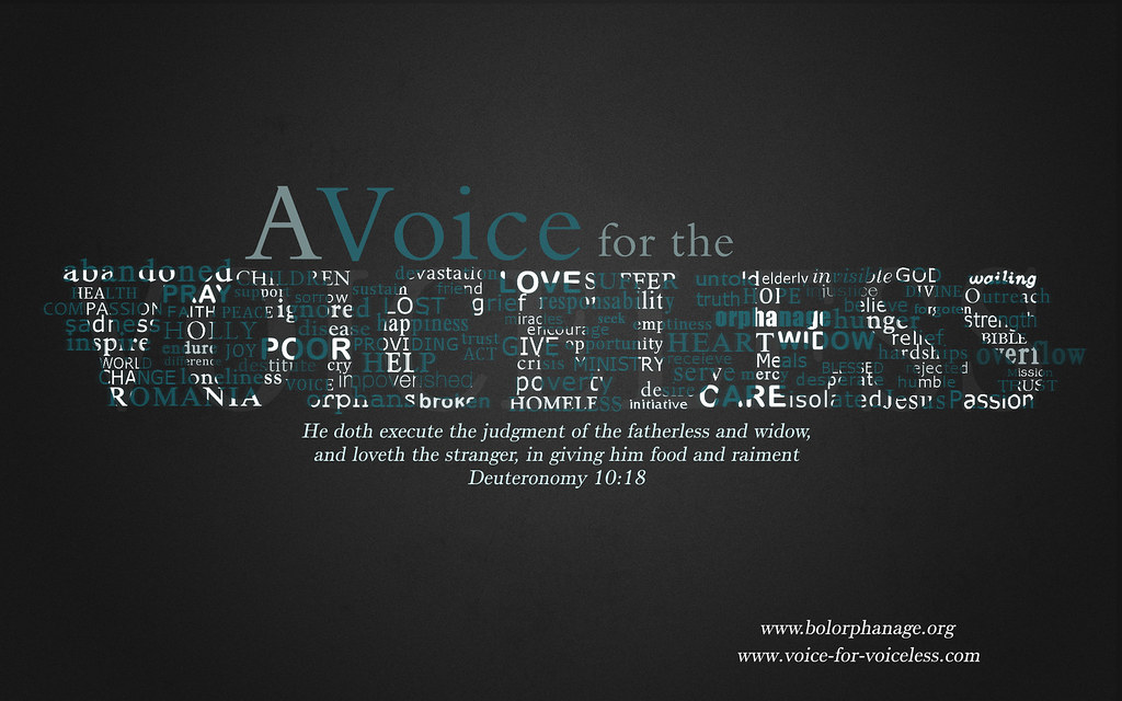 A Voice for the Voiceless new wallpaper!   The Voice for ...