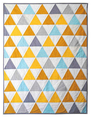 Yellow and Gray Triangles | by Carson Converse