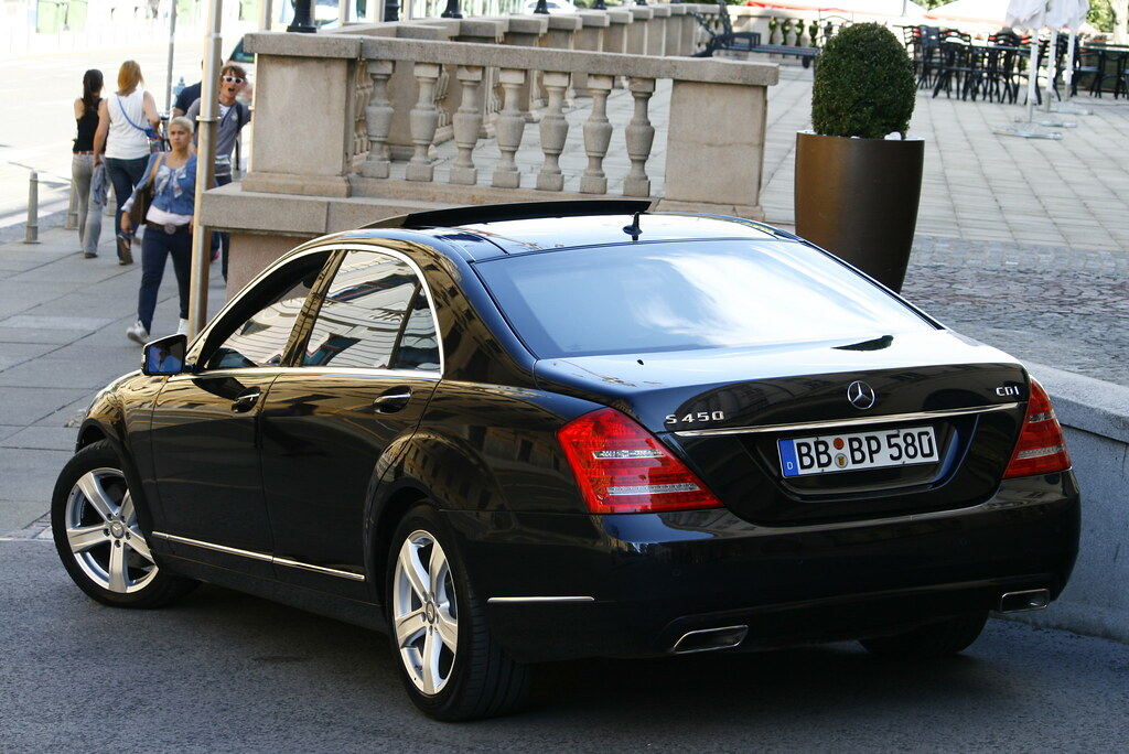 White Mercedes Benz >> Mercedes-Benz S 450 CDI V221. | Daem Tom | Flickr