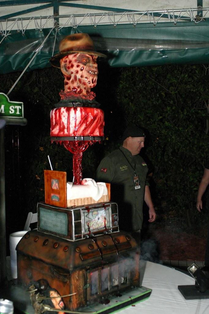 Nightmare On Elm Street Cake Inside The Magic Flickr